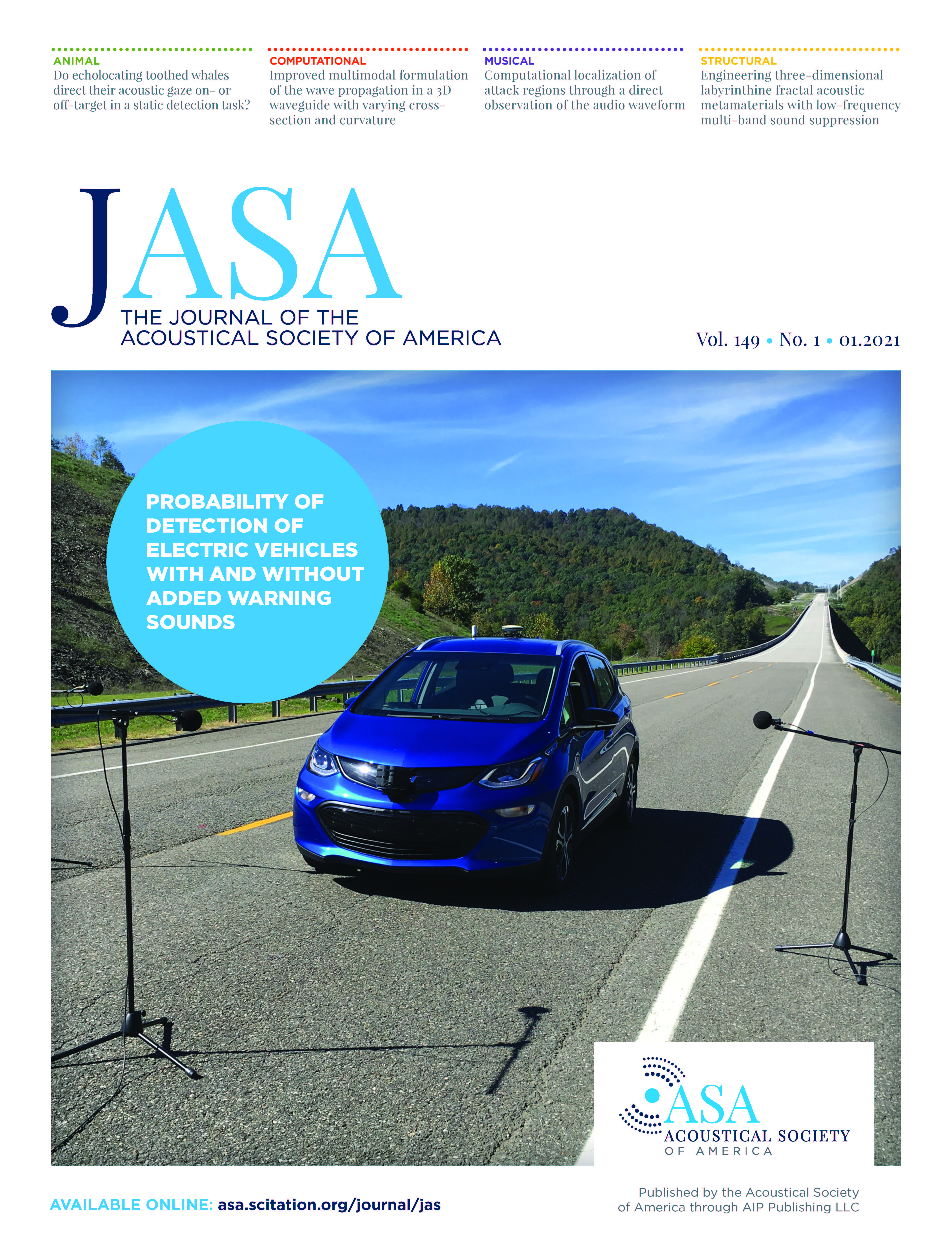 acoustical society of america scitation
